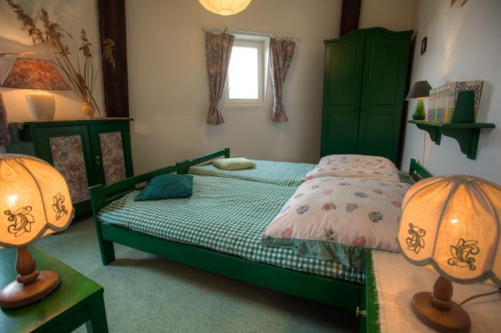 Sypialnia w Mazurskim Wiatraku