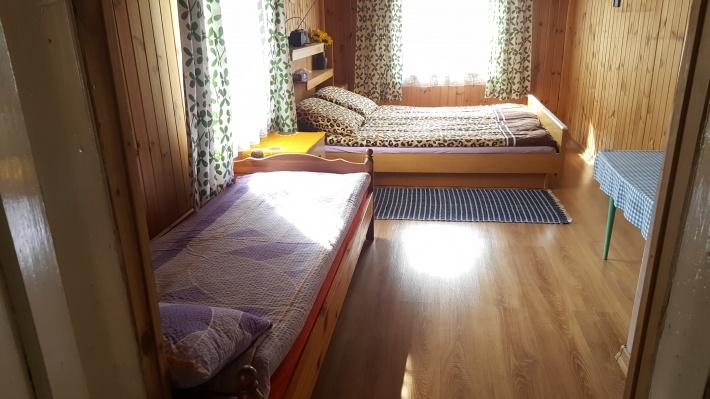 Sypialnia Domek Drewniany
