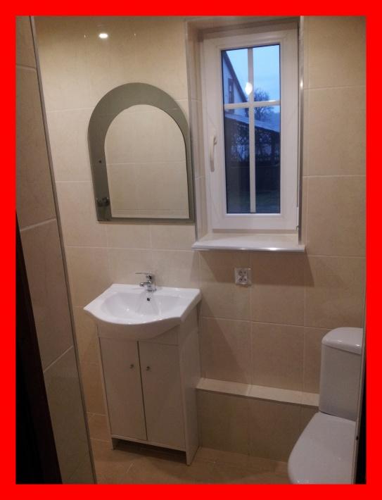 Domek drewniany łazienka