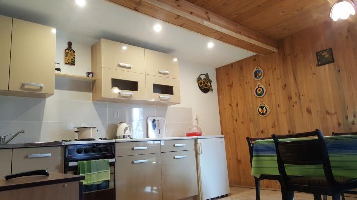 Kuchnia Domek Drewniany