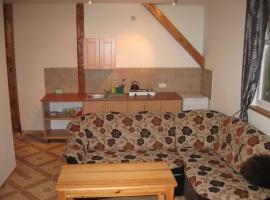 Domek5-Salonik z aneksem kuchennym
