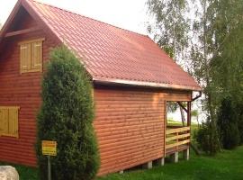 widok domku z boku